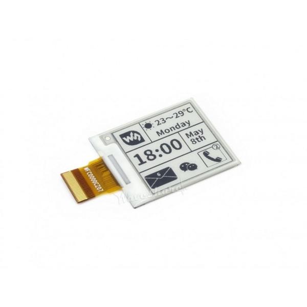 نمایشگر E-Ink 1.54 اینچ محصول waveshare