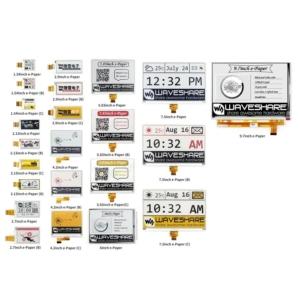 انواع نمایشگر های E-Ink