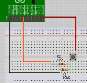 مدار راه اندازی gpio و led