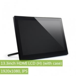 نمایشگر 13.3 اینچ صنعتی، ورودی HDMI و صوتی برای رزبری پای