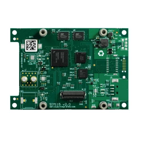 برد صنعتی کنترل هوشمند HMI SIM115 بعنوان تاچ پنل صنعتی