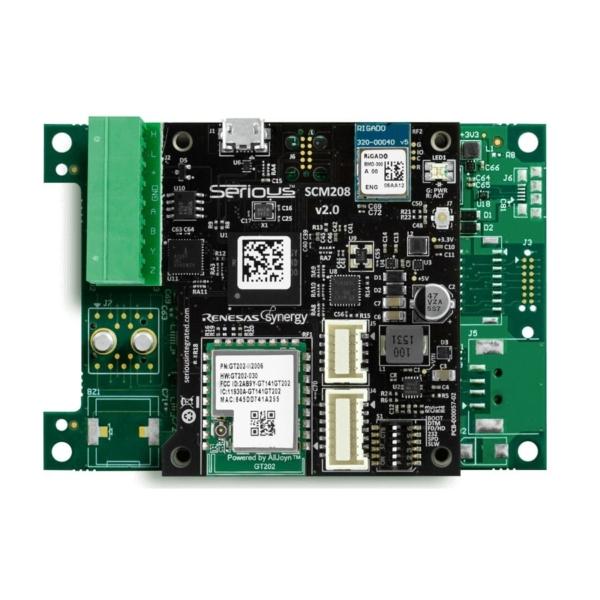 ماژول Power و ارتباطات SCM208 برای نمایشگر HMI پنل لمسی هوشمند SIM115