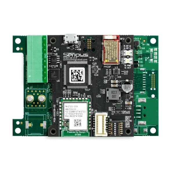 ماژول Power و ارتباطات SCM118 برای نمایشگر HMI پنل لمسی هوشمند SIM115
