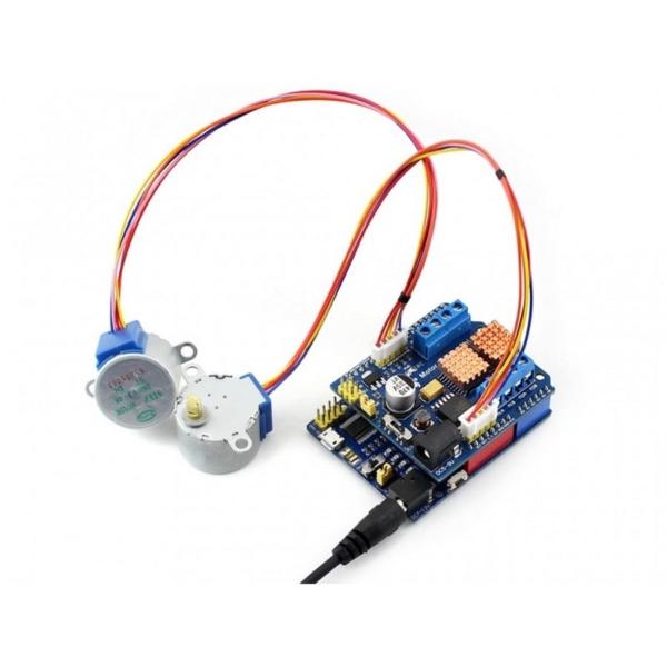 شیلد کنترل موتور - سیم بندی موتور استپر