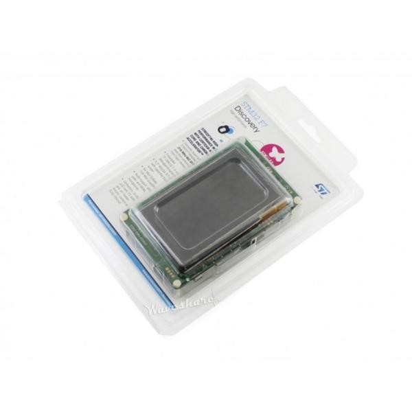 برد STM32F746G DISCO دارای میکروفون MEMS و نمایشگر 4.3 اینچ