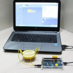 مثال استفاده از کیت آموزشی برنامه نویسی picoboard و به کمک اسکرچ (Scratch) و آردوینو