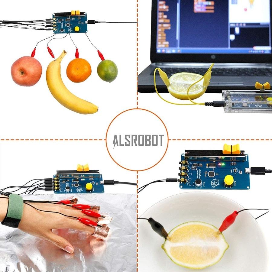 نمونه های عملی کیت آموزشی برنامه نویسی picoboard، قدرت گرفته از آردوینو و اسکرچ