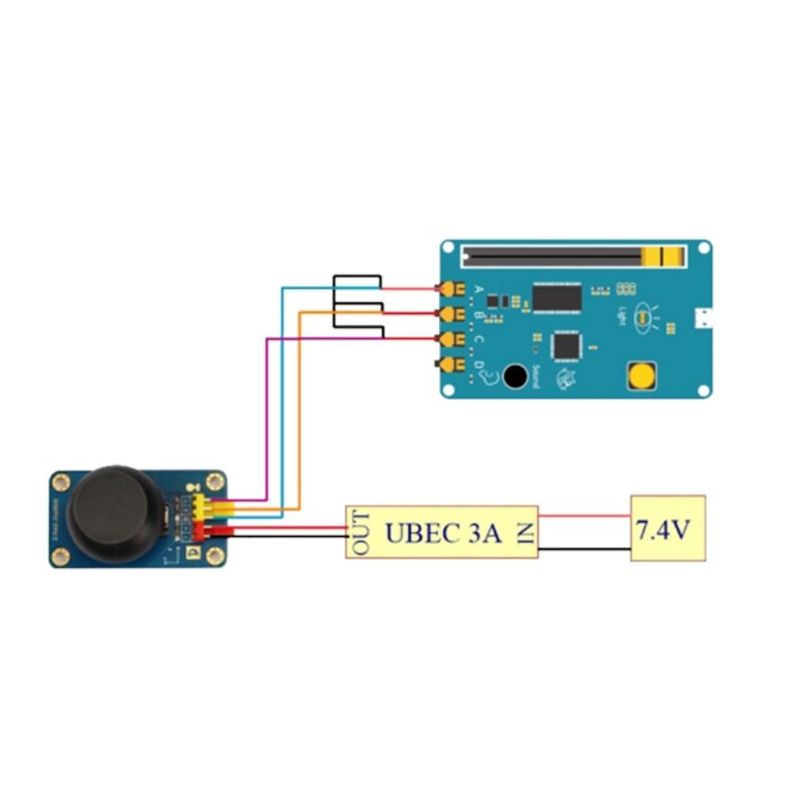 کیت آموزشی الکترونیک با آردوینو و اسکرچ، مدار adc برای خواندن سیگنال آنالوگ