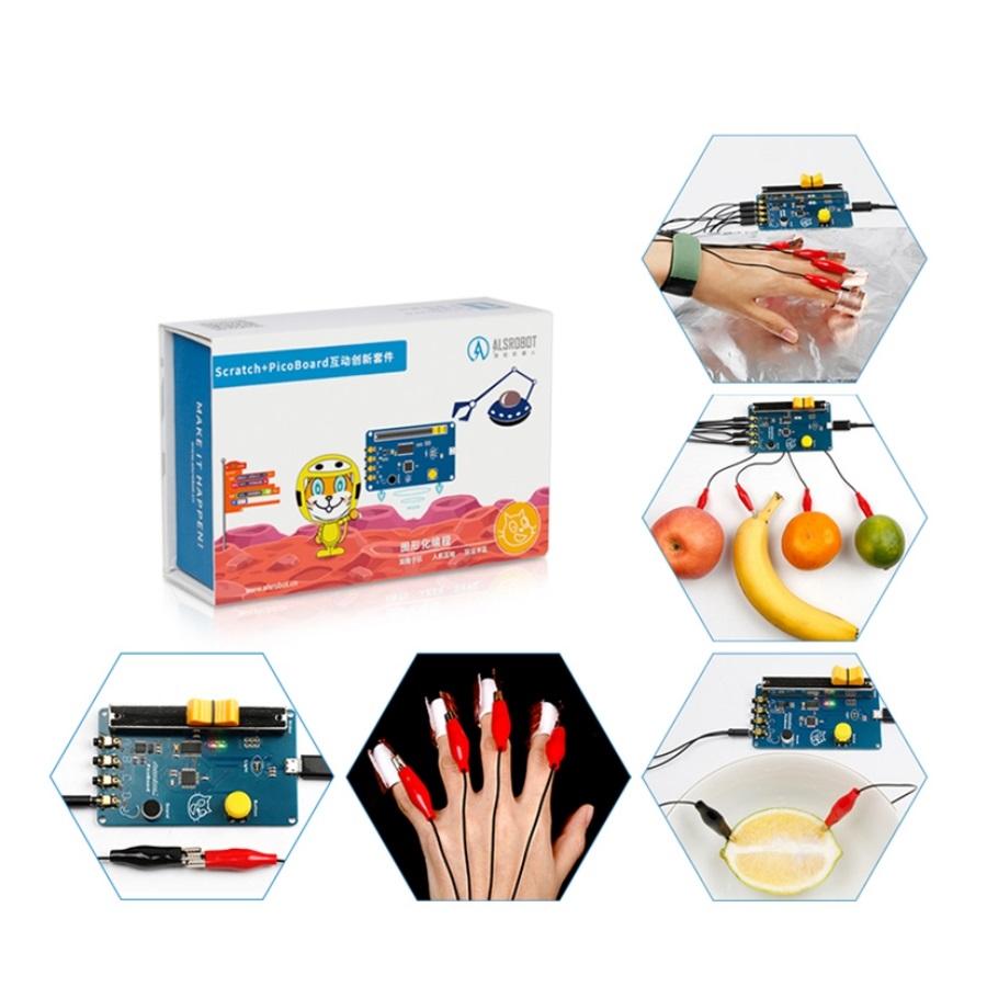 خرید کیتهای آموزشی الکترونیک، آموزش سنسور ها، مدار، آردوینو و رباتیک با اسکرچ