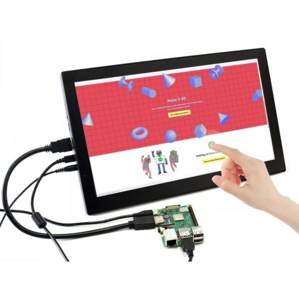 صفحه نمایش رزبری پای (raspberry pi) سایز 13.3 اینچ