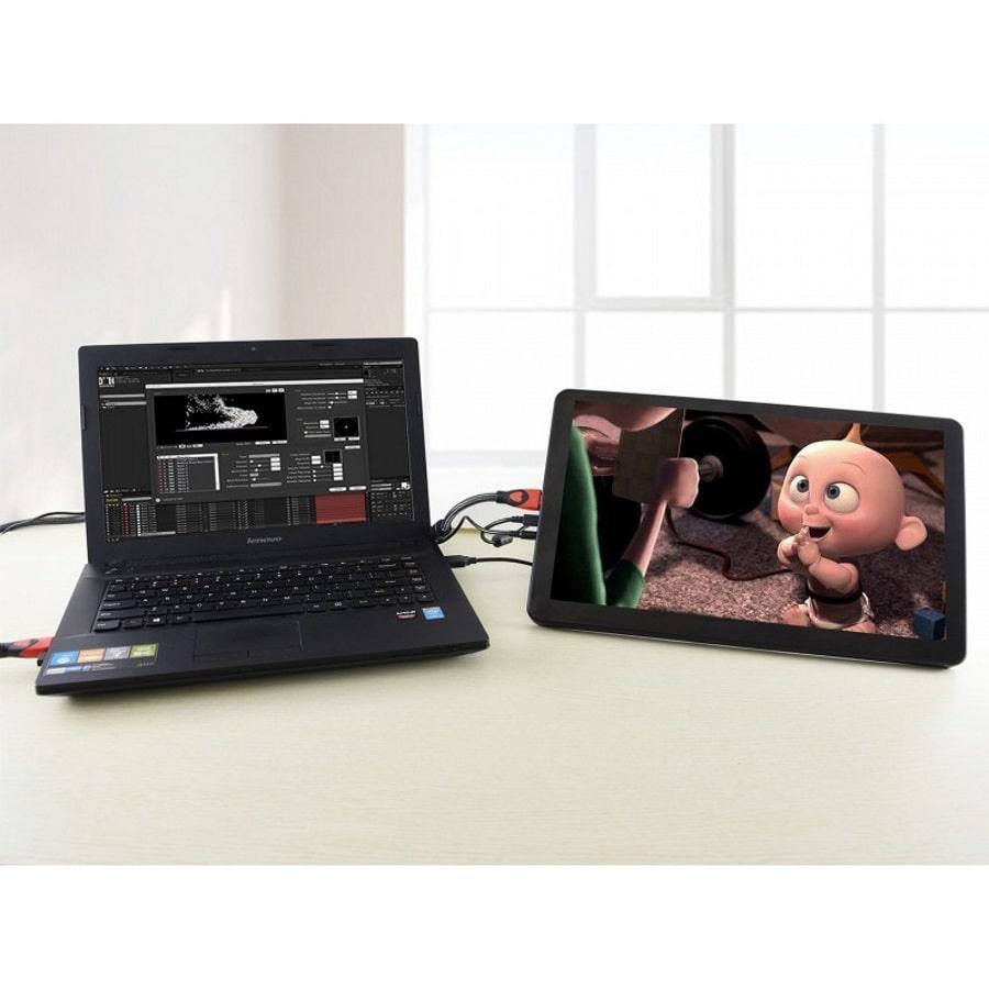 نمایشگر لمسی 15 اینچ با ورودی HDMI و VGA