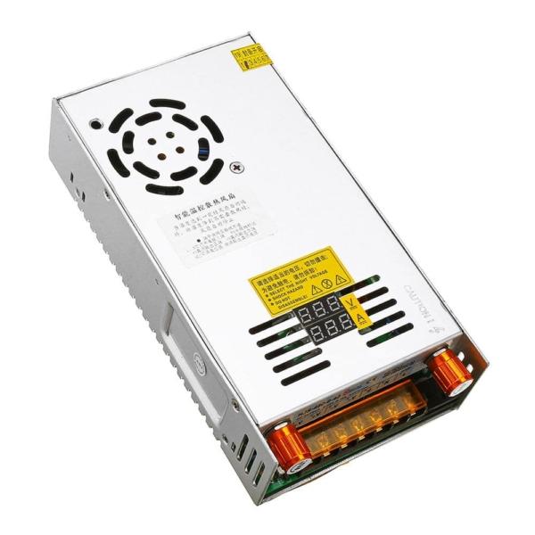 منبع تغذیه متغیر با ولتاژ 0 تا 5V، 12V ، 24V، 36V، 48V و جریان 4 تا 60A، 40A ، 20A، 15A، 10A