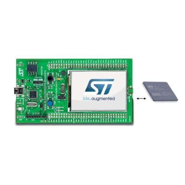 چیپ STM32F429 Discovery، خرید میکروکنترلر و ای سی STM32F429ZIT6