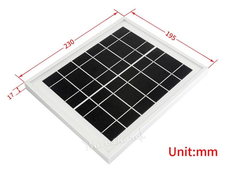 پنل 6V 5W، پنل خورشیدی 6 ولت 6 وات، پنل خورشیدی 5 ولت 1 آمپر، ارزان و مناسب