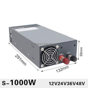 منبع تغذیه سوئیچینگ 1000 وات توان بالا 12V80A 24V40A 36V27A 48V20A 80V12A
