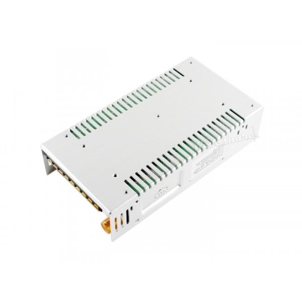 منبع تغذیه متغیر ولتاژ های قابل انتخاب 0 تا 20 ولت، 0 تا 80 ولت، 6 آمپر
