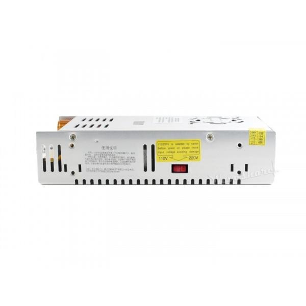 منبع تغذیه قابل تنظیم ولتاژ های قابل انتخاب 0 تا 30 ولت، 0 تا 80 ولت، 6 آمپر