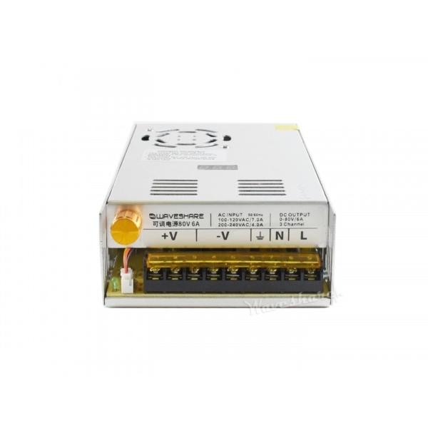 منبع ولتاژ متغیر ولتاژ های قابل انتخاب 0 تا 40 ولت، 0 تا 80 ولت، 6 آمپر