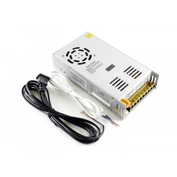 منبع تغذیه متغیر ولتاژ های قابل انتخاب 0 تا 60 ولت، 0 تا 80 ولت، 6 آمپر