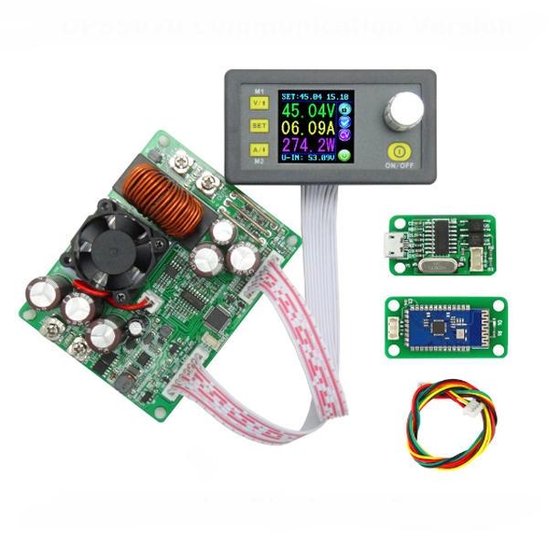 ماژول منبع تغذیه با کنترل ولتاژ و جریان همراه نمایشگر DPS5020