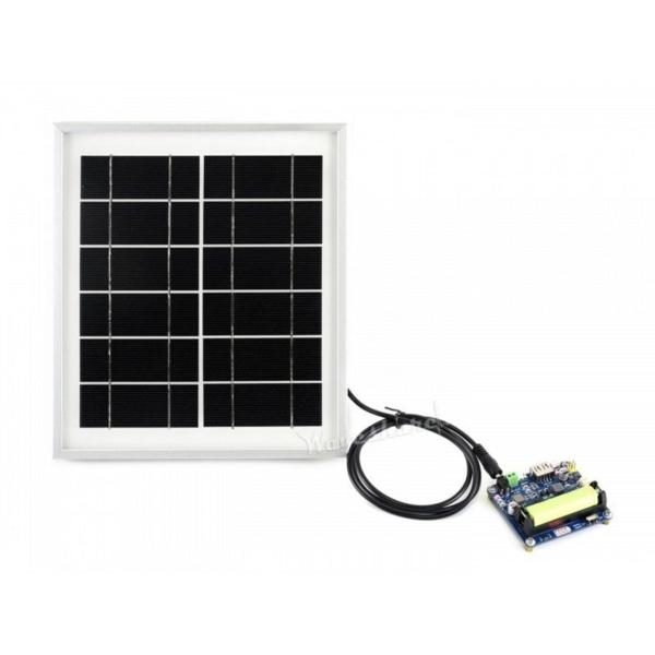 پنل خورشیدی 5 ، 6 ولت و 5 وات برای IOT و شارژ باتری لیتیوم و ارزان قیمت