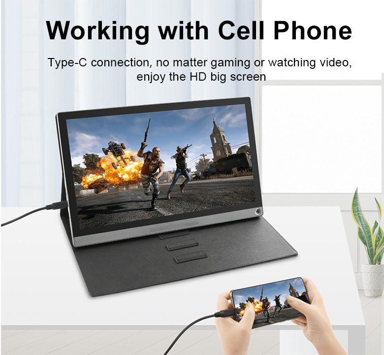 مانیتور قابل حمل موبایل اندروید