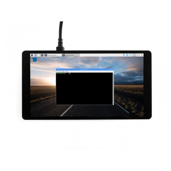 نمایشگر LCD فول کالر 5 اینچ دارای تاچ مقاومتی و ورودی HDMI