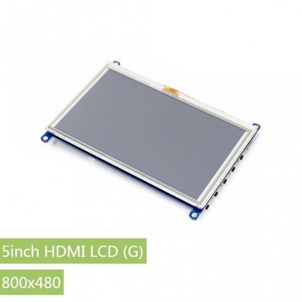 مانیتور 5 اینچ با ورودی hdmi و VGA
