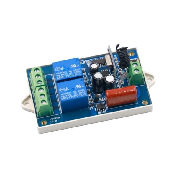 ماژول ریموت کنترل دو کاناله دارای ولتاژ ورودی 220V و فرکانس 315MHz