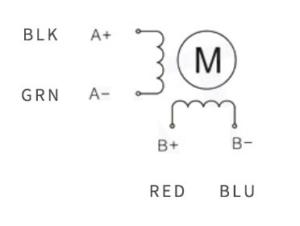 پیکربندی سیم بندی موتور SM24240