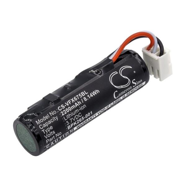 باتری وریفون VX675 با 2200mAh یا 8.14Wh