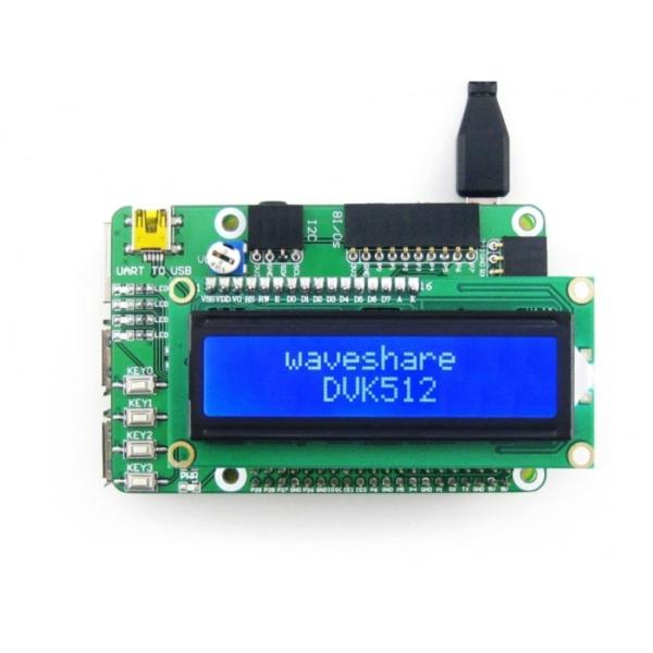 RTC، CP2102 و نمایشگر برای رزبری پای 4
