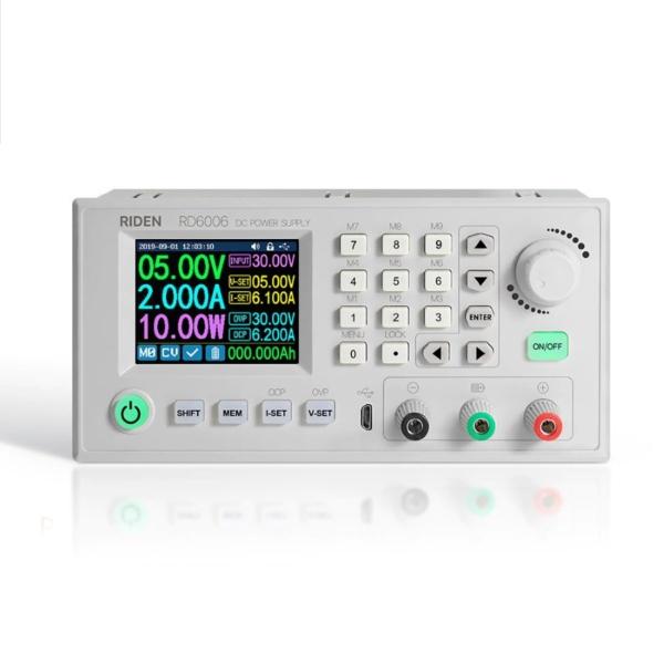 منبع تغذیه ولتاژ متغیر 0 تا 60 ولت 0 تا 6 آمپر
