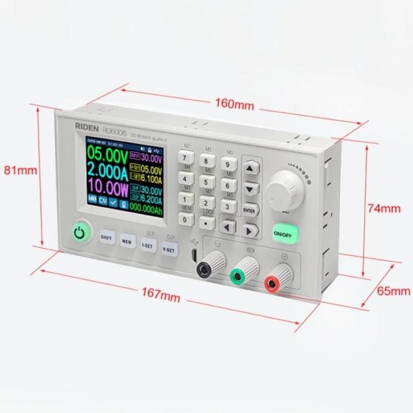ماژول منبع تغذیه، کاهنده ولتاژ و جریان با قابلیت برنامه ریزی 60V 6A