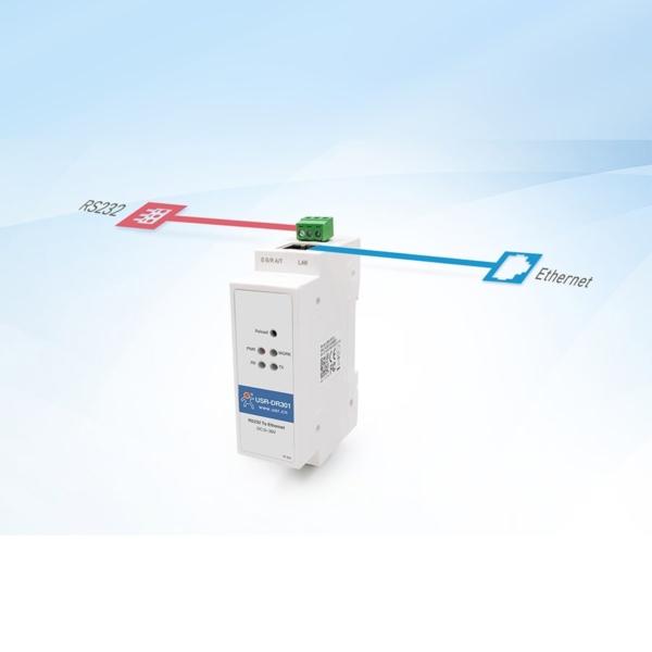 مبدل RS232 به اترنت صنعتی