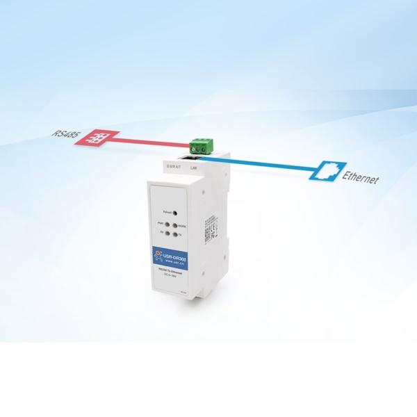 مبدل RS485 به اترنت صنعتی
