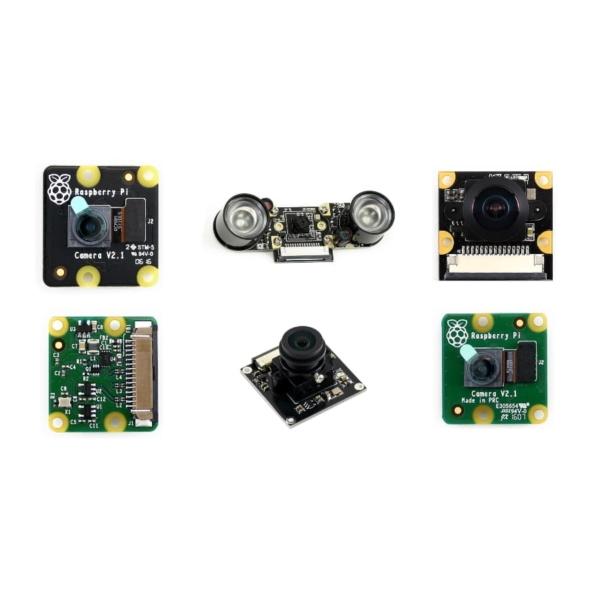ماژول های دوربین رزبری پای و جتسون نانو