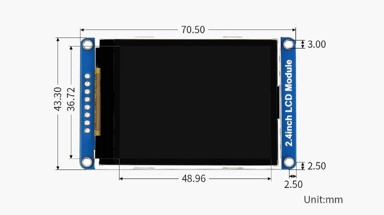 نمایشگر LCD رنگی