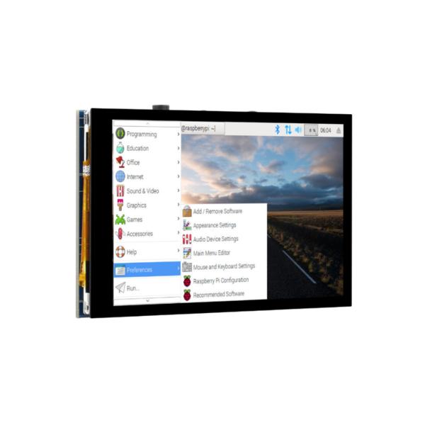 نمایشگر LCD تاچ خازنی 4 اینچی