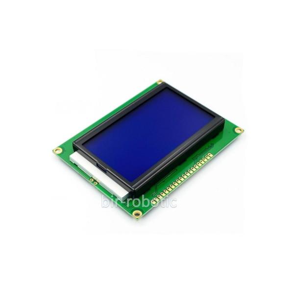 ماژول نمایشگر گرافیکی 12864 با بک لایت آبی