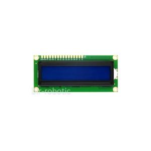 ماژول نمایشگر 1602 کاراکتری آبی