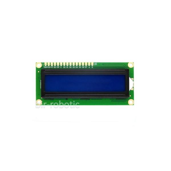 ماژول نمایشگر 1602 آبی با رابط I2C