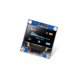 ماژول نمایشگر OLED زرد-آبی 0.96اینچ با رابط I2C