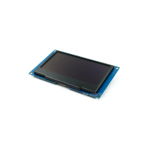 ماژول نمایشگر OLED سفید 2.42 اینچ با رابط SPI