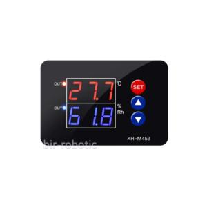 ترموستات دما و رطوبت 110-220V دیجیتال دقیق مدل XH-M453