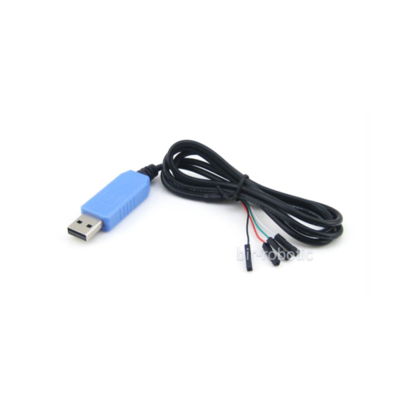 مبدل USB به TTL با 4 سیم پیندار