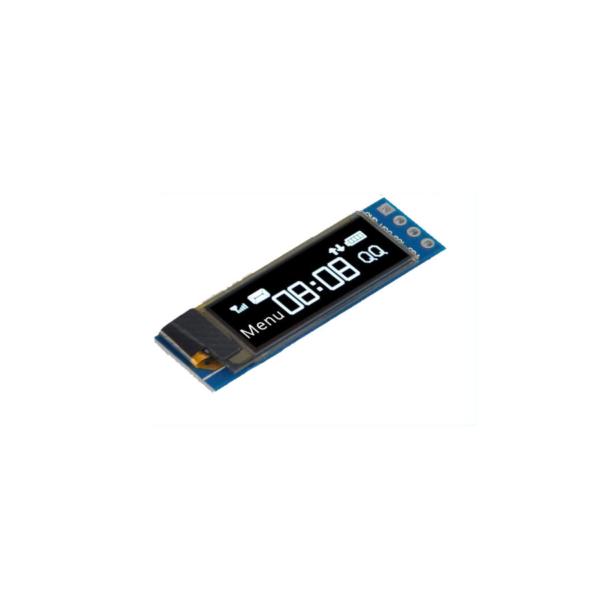 ماژول نمایشگر OLED سفید 0.91 اینچ با رابط I2C