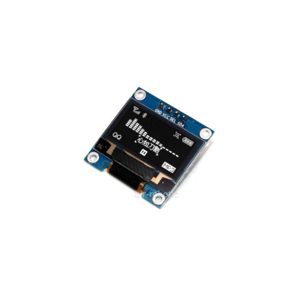 ماژول نمایشگر OLED سفید 1.3 اینچ با رابط I2C