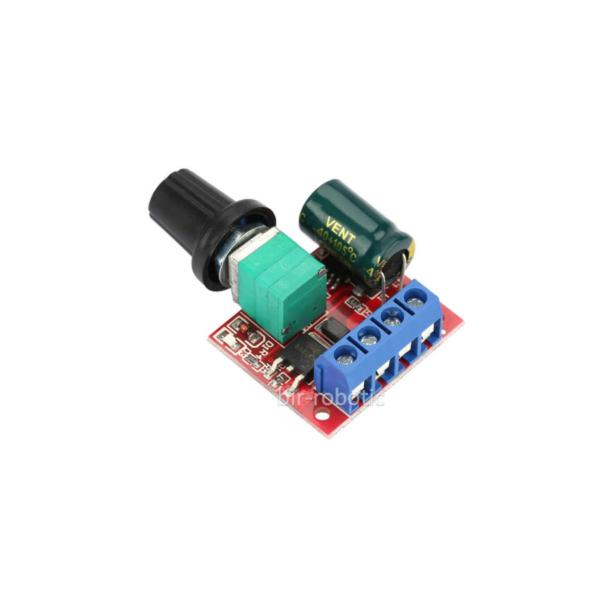 ماژول کنترل دور موتور PWM با ولتاژ کاری 5 تا 28 ولت 5 آمپر