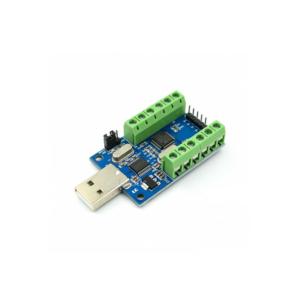 ماژول مبدل 10 کاناله 12بیت UART به USB با چیپ STM32
